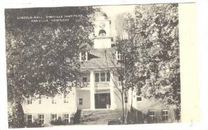 Lincoln Hall, Annville Institute, Annville, Kentucky, 1900-1910s