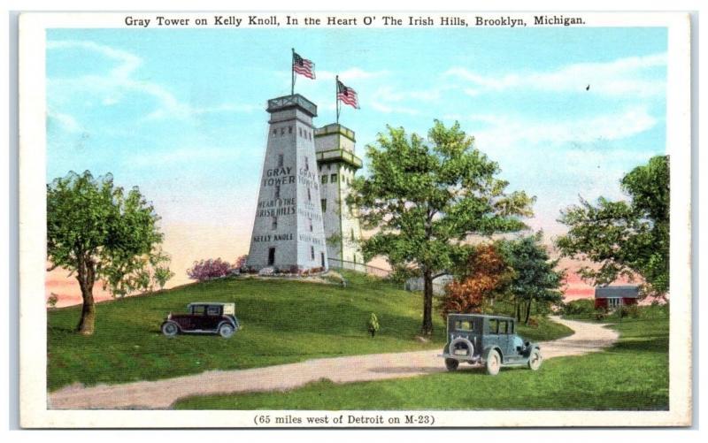 1927 Gray Tower, Kelly Knoll, Irish Hills, Brooklyn, MI