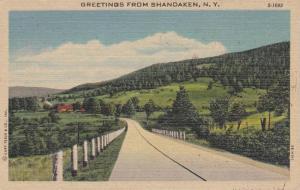 Scenic Greetings from Shandaken, New York,  PU-1951