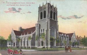 Street view, First Congregational Church, Admiral Blvd. and Highland Ave.,  K...