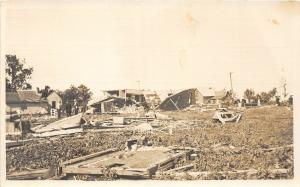 F36/ Fergus Falls Minnesota RPPC Postcard c1919 Cyclone Disaster 3