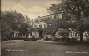 Old Lyme CT Old Lyme Inn Postcard #6