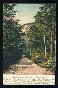 Vintage South Waterford, Maine/ME Postcard, Bear Mountain, 1905!