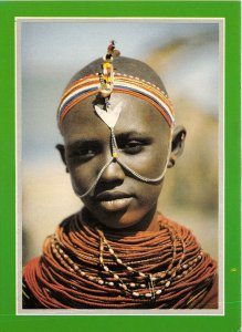us8379 el molo woman jambo kenya  kenya africa folklore costume types