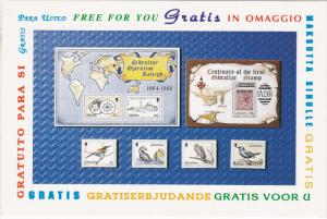 United Kingdom Gibraltar Stamps, Multiple Languages on the Boarder Free For ...
