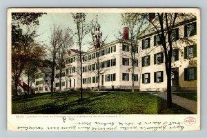 Hanover NH-New Hampshire Dartmouth & Wentworth Halls, College, Vintage Postcard