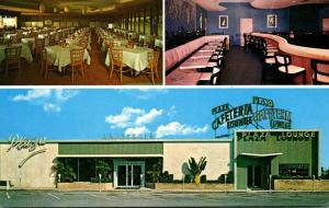 Florida Pompano Beach St Clairs Plaza Cafeteria and Cocktail Lounge