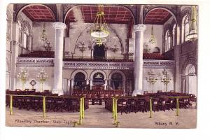 Interior, Assembly Chambers, Flags, Albany, New York, Albany News