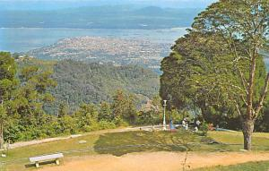 Malaysia Old Vintage Antique Post Card George Town Penang Hill Unused