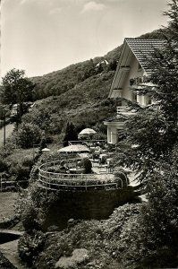 luxemburg, WEILERBACH-LEZ, Echternach, Hotel Chalet Bois Fleuri (1970s) Postcard