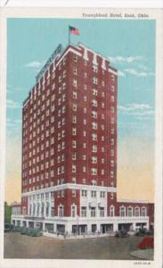 Oklahoma Enid Youngblood Hotel 1948 Curteich