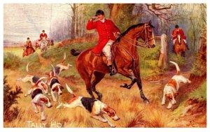 Dog  ,  Tallly Ho   , ( Fox Hunt )