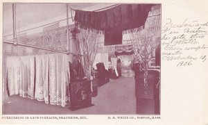 BOSTON, Massachusetts, Pre 1907; Everything Lace Curtains, Etc. RH White Co.