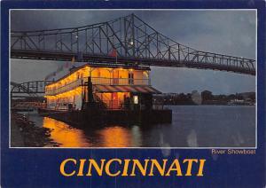 River Showboat - Cincinnati, Ohio