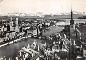 B31707 Zurich mit Glarneralpen   switzerland