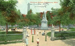 MA - Charlestown, Winthrop Square