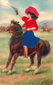 COWGIRL #1, EMBOSSED.