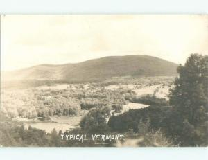 1940's rppc NICE VIEW State Of Vermont VT i5777