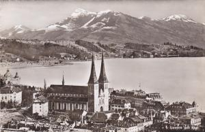RP, 2-Views, Panorama, Luzern Mit Rigi, Switzerland, 1920-1940s