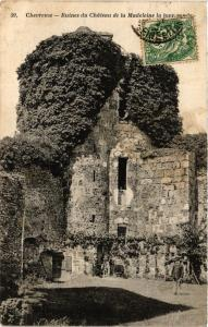 CPA CHEVREUSE - Ruines du Chateau de la Madeleine la tour ronde (352858)