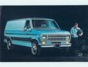Unused 1975 car dealer ad postcard FORD ECONOLINE E-350 VAN o8403-22
