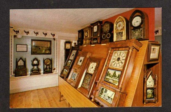 CT View American Clock & Watch Museum in BRISTOL Connectivut Postcard PC