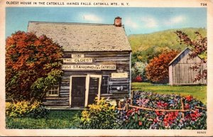 New York Haines Falls Oldest House In The Catskills 1937