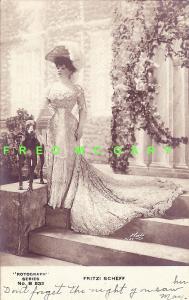 1905 Binghamton NY PC: Fritzi Scheff in 'Mlle. Modiste'