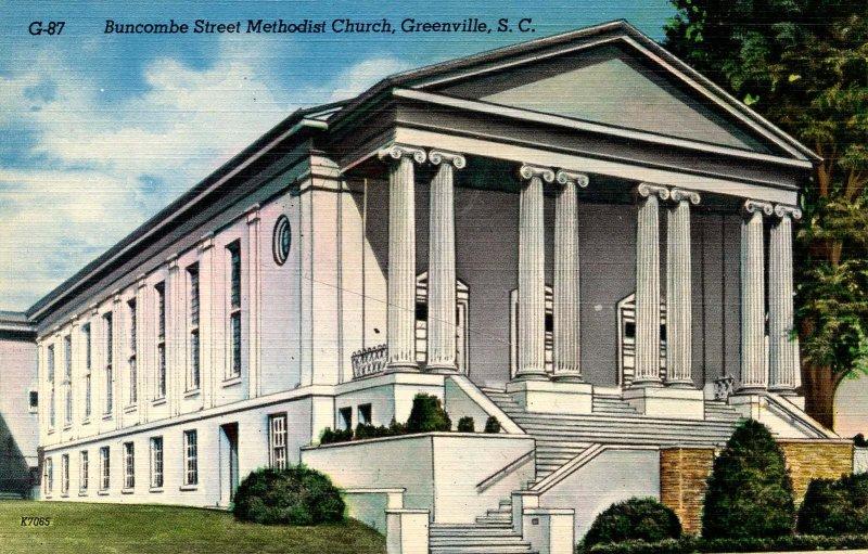 SC - Greenville. Buncombe St Methodist Church