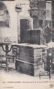 Perros-Guirec , France, 00-10s ; Interieur de N.D. de La CLARTE - Un Voeu
