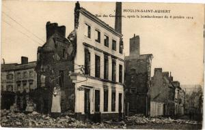 CPA Moulin Saint Aubert-Rue des Gauguiers aprés le bombardement (231665)