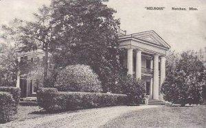 Mississippi Natchez Melrose Albertype
