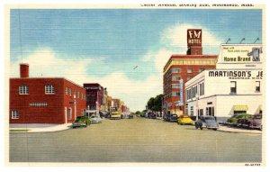 Minnesota  Moorhead Center Avenue looking East
