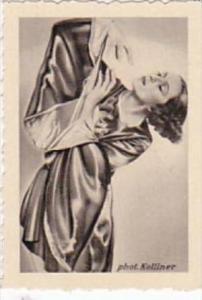 GARBATI CIGARETTE CARD FAMOUS DANCERS NO 103 ELLINOR TORDIS