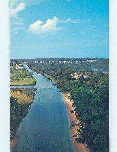 Pre-1980 LEWES CANAL Rehoboth Beach Delaware DE AD3650@