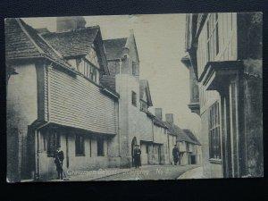 West Sussex STEYNING The Grammar School - Old Postcard by Wilson of Steyning