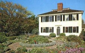 Garden, The Towne House Sturbridge MA Unused