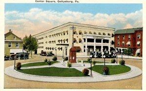 PA - Gettysburg. Center Square