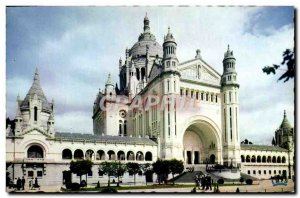 Modern Postcard Lisieux View Towards Basilica