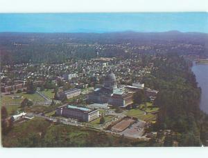Unused Pre-1980 AERIAL VIEW OF TOWN Olympia Washington WA n2083