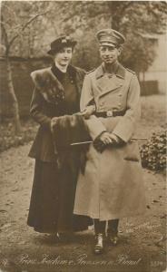 Prinz Joachim von Preussen und Braut Prince Joachim Albert of Prussia & wife