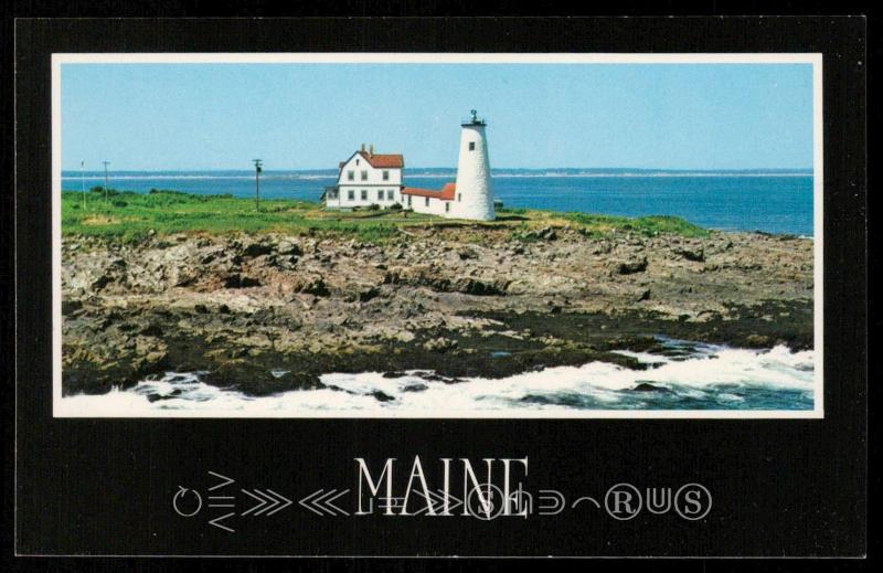 Maine, Wood Island Light
