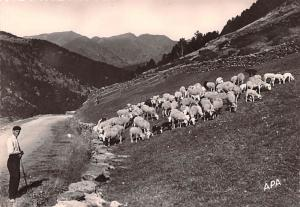 Valls D'Andorra - Solden, Spain, real photo
