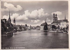RP; ZURICH, Switzerland, 1930-1940s; Blick Von Der Quaibrucke