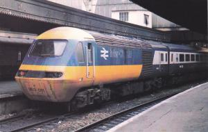 High Speed Train No 253011 , Paddington Station , England , 60-80s