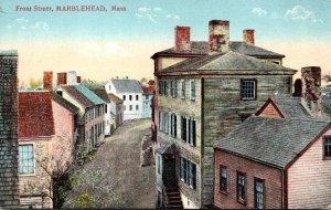 Massachusetts Marblehead Front Street