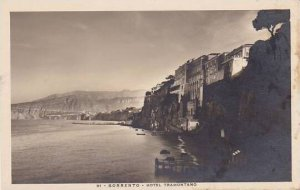 Italy Sorrento Hotel Tramontana Real Photo