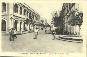 djibouti, Rue du Ras Makonnen, Maison Vosikis (1930s)