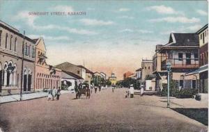 Pakistan Karachi Somerset Street 1912