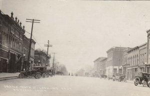 RP: HOWELL , Michigan , 1910s ; Grand River st Looking East